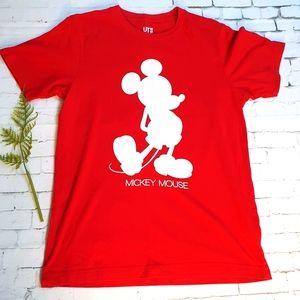 Uniqlo Size S Disney Mickey Tee T-Shirt Unisex